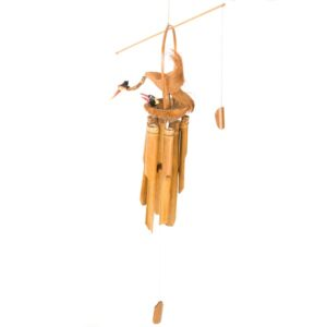 Bird And Baby Bamboo Windchime