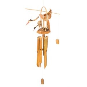 Bird Family Bamboo Wind Chime