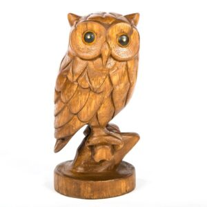 Owl on Branch – Extra Small