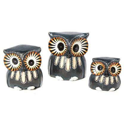 3 Blue Owls