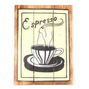 Espresso Wall Hanging