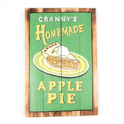 Granny's Homemade Apple Pie Wall Hanging