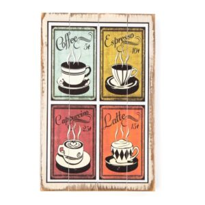 Wall hanging for Coffee Lovers