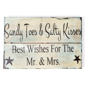 Sandy Toes Wall Hanging