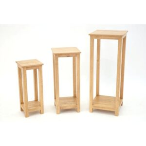Trio of Accent Console Tables - Light