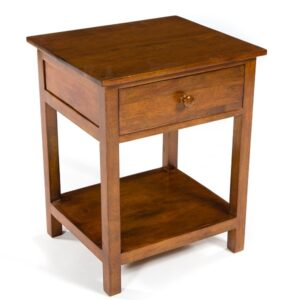 Accent 1 Drawer Bed Side Table - Dark
