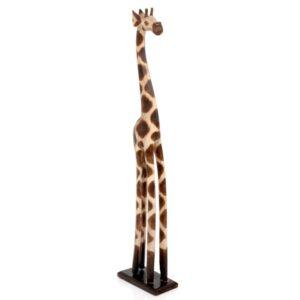 Wooden Standing Giraffe - 80cm