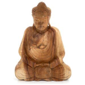 Medium Natural Meditating Sitting Buddha