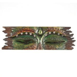 Green Buddha Eye Wall Hanging