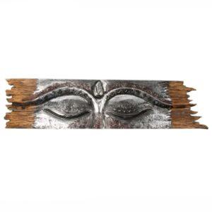 Silver Buddha Eye Wall Hanging