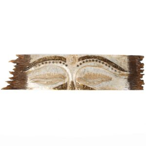Buddha Eye Wall Hanging - Rough Edge - White - Small