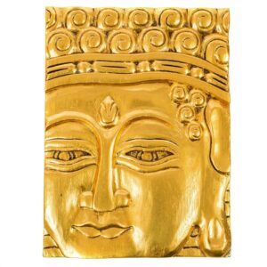 Gold Buddha Wall Hanging