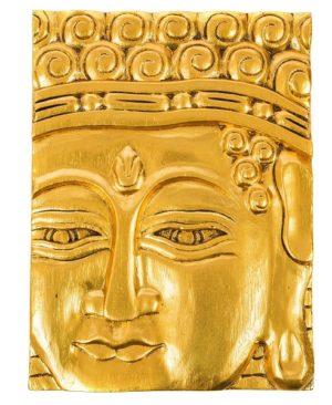 Buddha Wall Hanging - Gold
