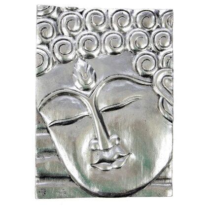 Buddha Wall Hanging - Silver