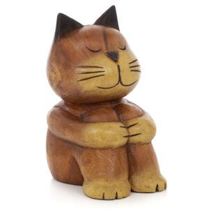 Cartoon Sitting Cat - Large