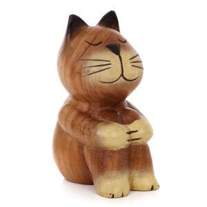 Cartoon Sitting Cat - Medium