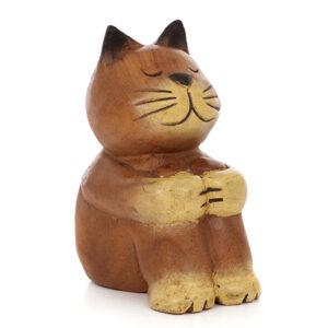 Cartoon Sitting Cat - Small