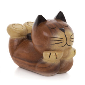 Cartoon Lying Cat - Large