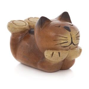 Cartoon Cat Lying