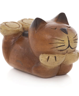 Cartoon Lying Cat - Small