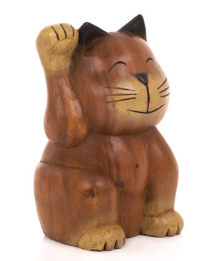 Cartoon Lucky Cat - Large