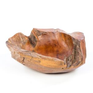 Teak Rustic Bowl - Small