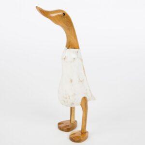 White Bamboo Root Duck – Medium