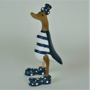 Blue Striped Duck – 25cm