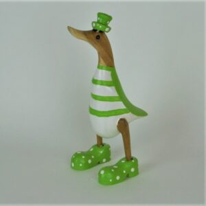Green Striped Duck – 25cm