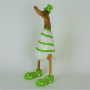 Green Striped Duck – 35cm