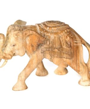 Elephant with Carved Back - Medium