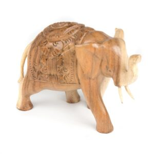 Elephant with Carved Back - Small