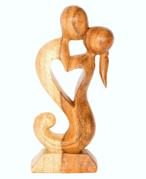 Abstract Hugging Lovers – 20cm, Light