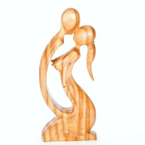 Abstract Kneeling Lovers – 30cm, Light