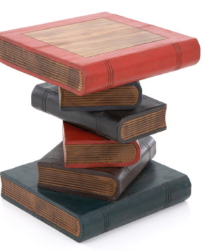 Book Stack Table - Painted