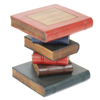 Mini Book Stack Table - Painted