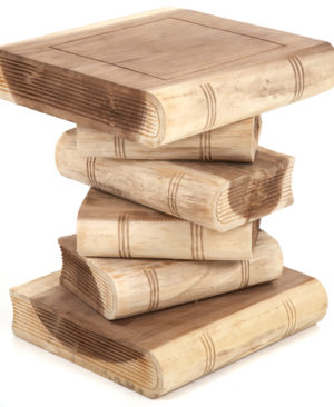 Book Stack Table - Plain