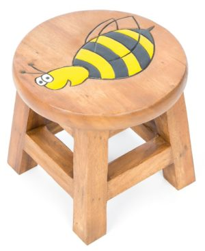 Childs Stool - Bee