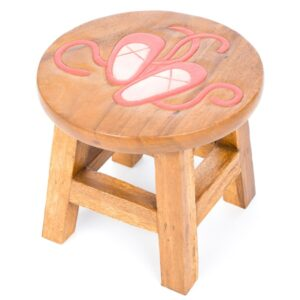 Childs Stool - Ballet Shoes