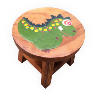 Childs Stool - Dinosaur