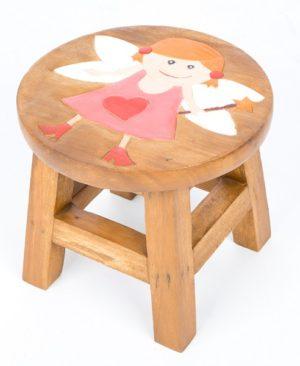 Childs Stool - Fairy