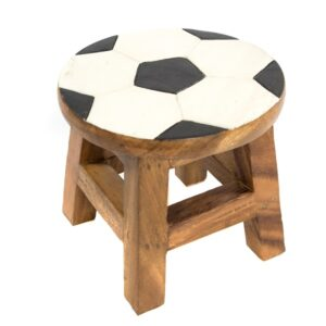 Kids Stool with Football Design