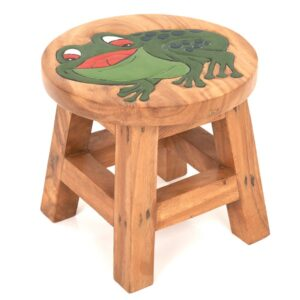 Childs Stool - Frog