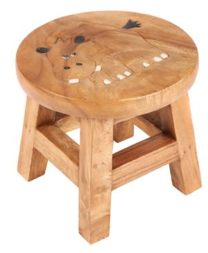 Childs Stool - Hippo