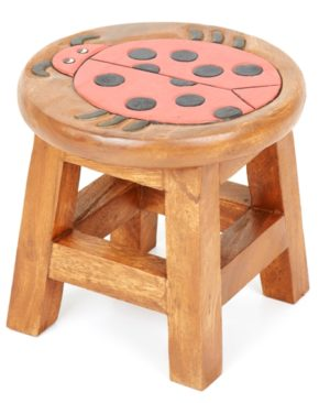 Childs Stool - Ladybird