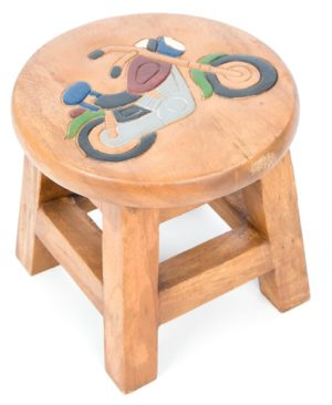 Childs Stool - Motorbike