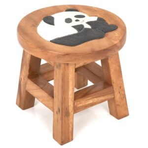 Childs Panda Bear Stool