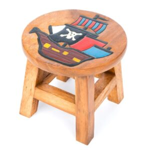 Childs Stool - Pirate Ship