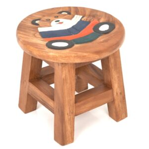 Childs Stool - Teddy Reading