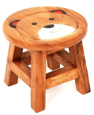 Childs Stool - Boy Teddy